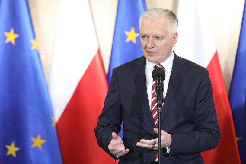 Jarosław Gowin /Tomasz Jastrzębowski /Reporter