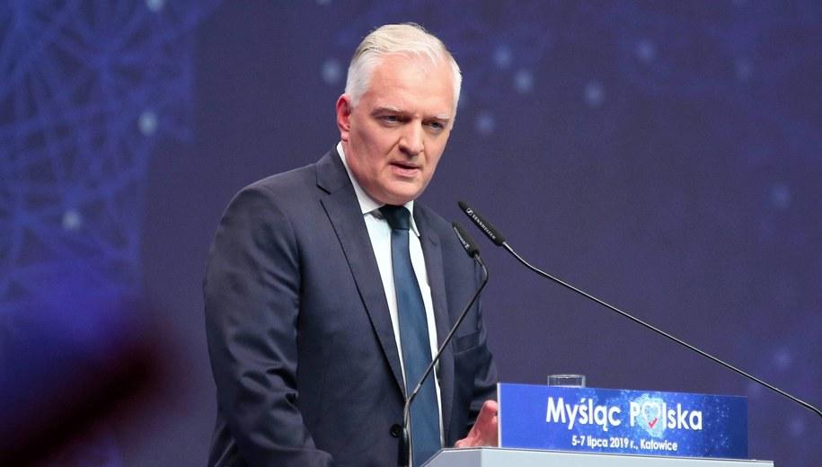 Jarosław Gowin / Andrzej Grygiel    /PAP