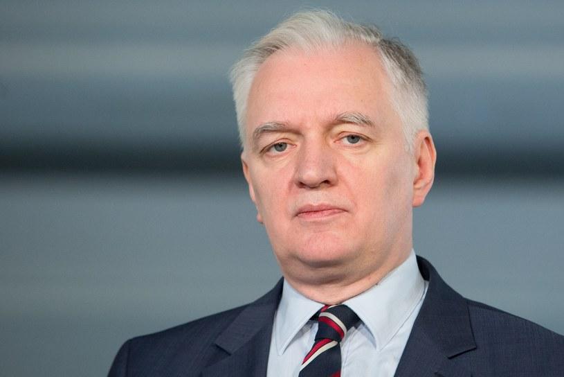 Jarosław Gowin /Fot Tomasz Jastrzebowski /Reporter