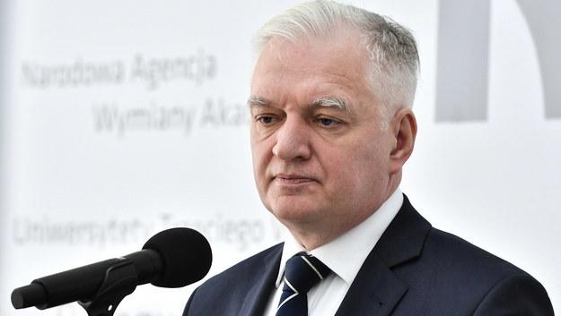 Jarosław Gowin /Andrzej Lange /PAP