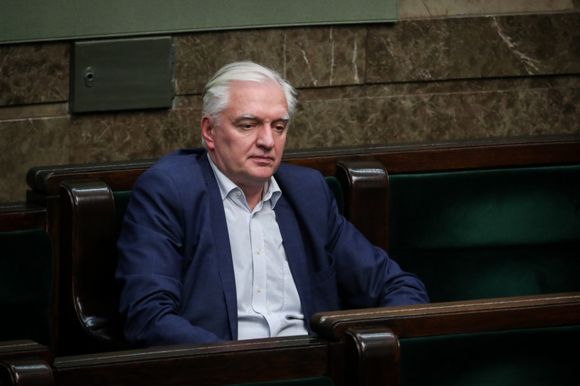 Jarosław Gowin /fot. Andrzej Iwanczuk/REPORTER /