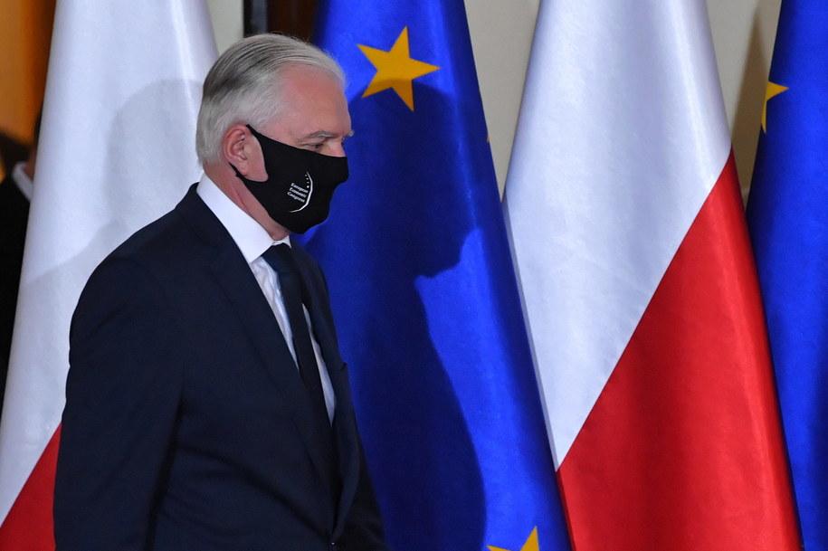 Jarosław Gowin / Radek Pietruszka   /PAP