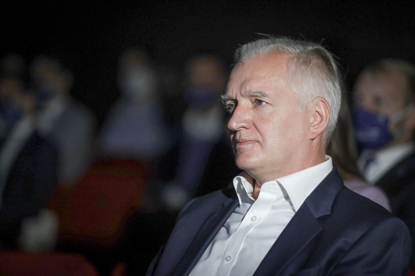Jarosław Gowin /Grzegorz Banaszak/REPORTER /East News