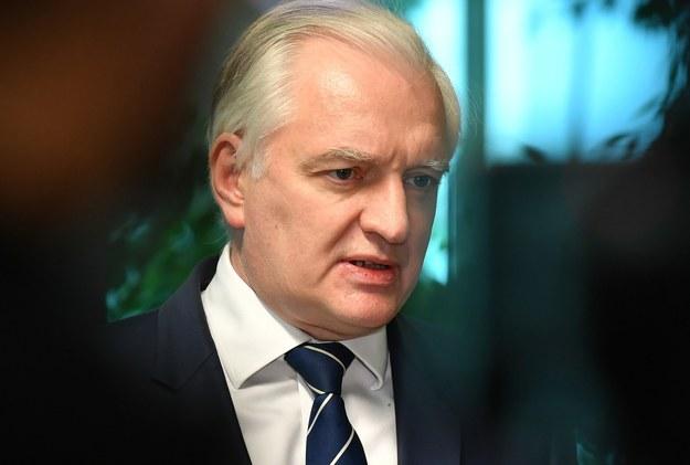 Jarosław Gowin /Wojtek Jargiło /PAP