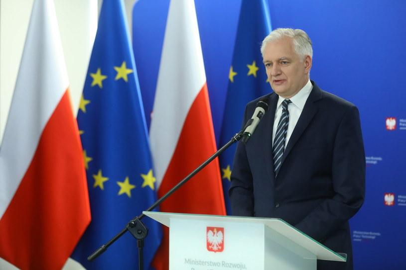 Jarosław Gowin /Rafał Guz /PAP