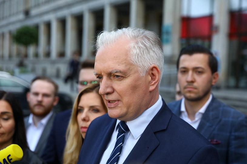 Jarosław Gowin /PAP/Rafał Guz /PAP