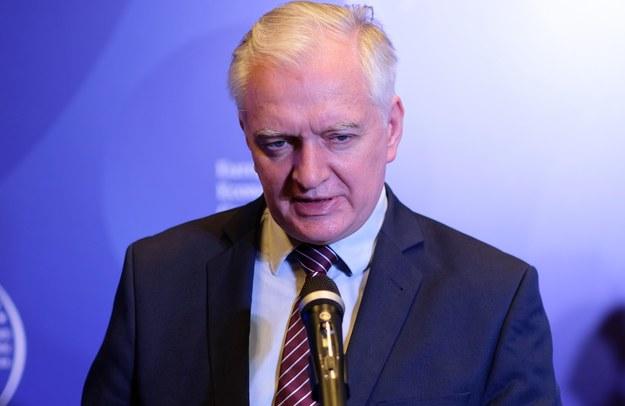 Jarosław Gowin /Andrzej  Grygiel /PAP