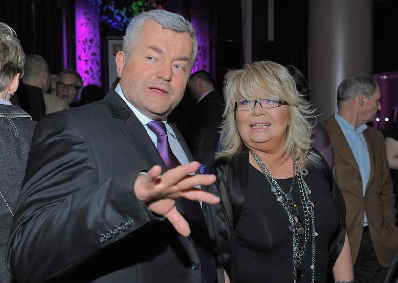 Jarosław Gugała i Nina Terentiew /- /MWMedia