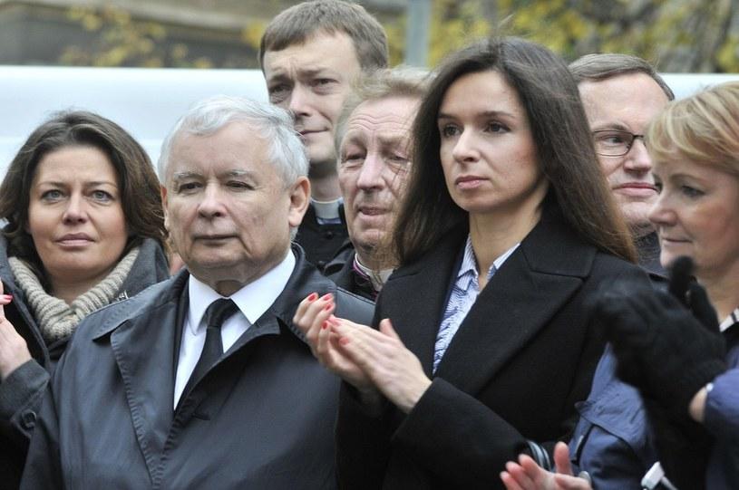 Jarosław i Marta Kaczyńscy /Przemek Świderski /Reporter