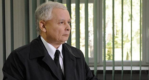Jarosław Kaczyński będzie jednak kandydował na prezydenta /AFP