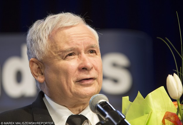 Jarosław Kaczyński. Bohater /Marek Maliszewski  /Reporter