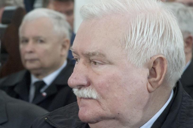 Jarosław Kaczyński domaga się przeprosin od Lecha Wałęsy /Wojciech Strozyk/REPORTER /Reporter