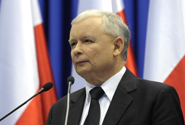 Jarosław Kaczyński, fot. Andrzej Hrechorowicz /PAP