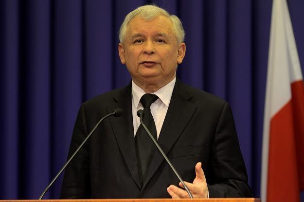 Jarosław Kaczyński/fot. B. Zborowski /PAP