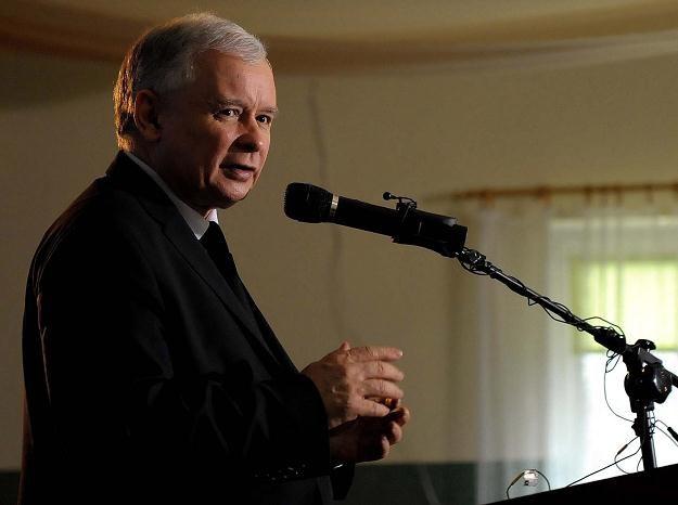 Jarosław Kaczyński, fot. D. Delmanowicz /PAP