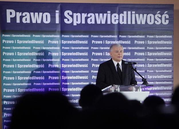 Jarosław Kaczyński, fot. Grzegorz Michałowski /PAP