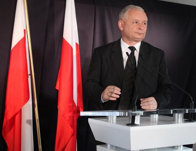 Jarosław Kaczyński / fot. J. Bednarczyk /PAP