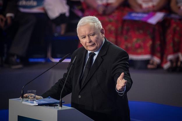 Jarosław Kaczyński /fot. Jacek Domiński /Reporter