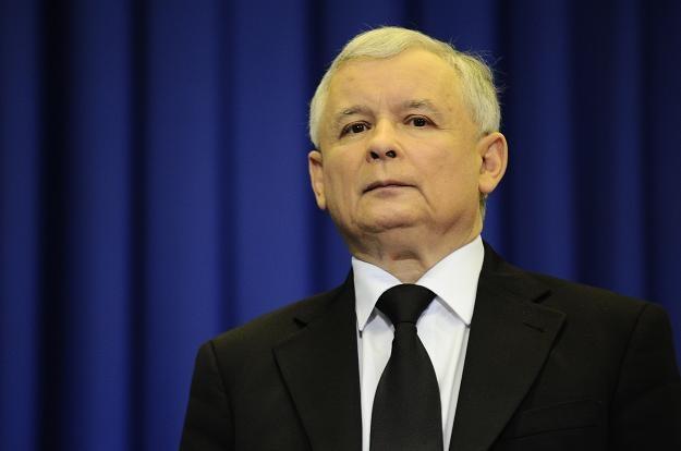Jarosław Kaczyński/fot. Maciej Biedrzycki /Agencja FORUM