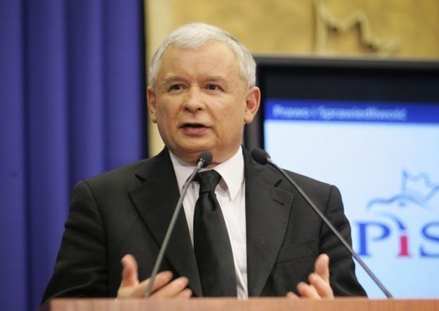 Jarosław Kaczyński / fot. P. Kowalczyk /Agencja SE/East News