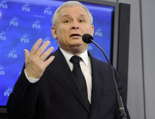Jarosław Kaczyński / fot. P. Kula /PAP