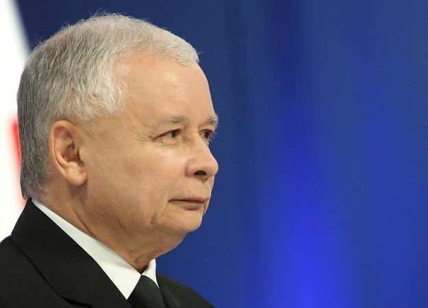 Jarosław Kaczyński, fot. Radek Pietruszka /PAP
