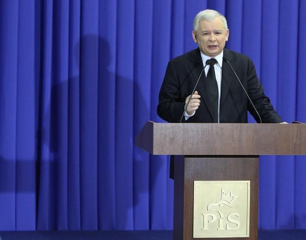 Jarosław Kaczyński / fot. S. Kowalczuk /East News