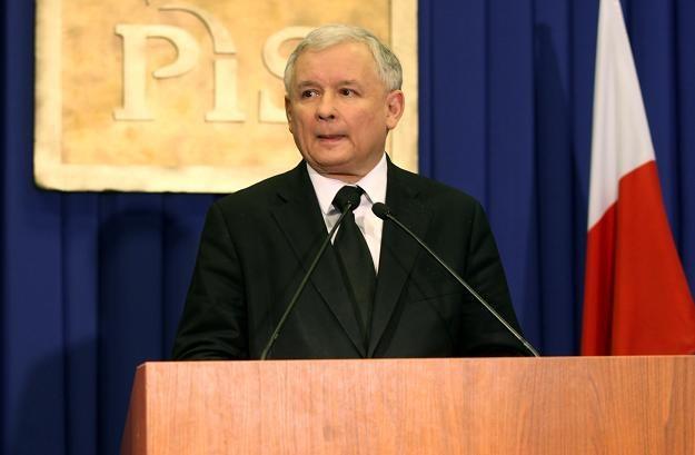 Jarosław Kaczyński/fot. T. Gzell /PAP