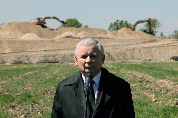 Jarosław Kaczyński, fot. Tomasz Gzell /PAP