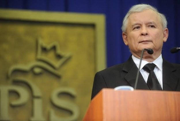 Jarosław Kaczyński, fot. Witold Rozbicki /Reporter