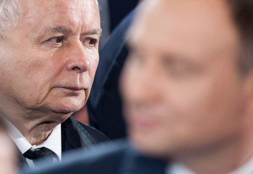 Jarosław Kaczyński i Andrzej Duda /Bartosz Krupa /East News