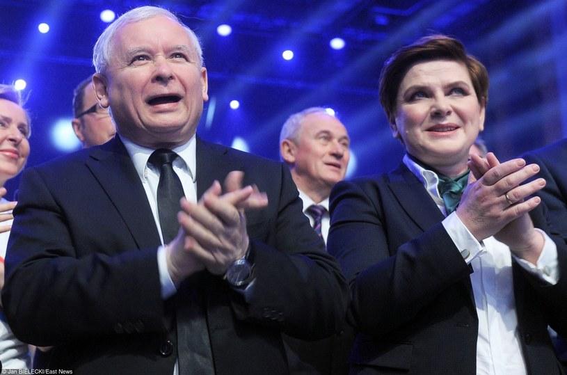 Jarosław Kaczyński i Beata Szydło /Jan Bielecki /East News