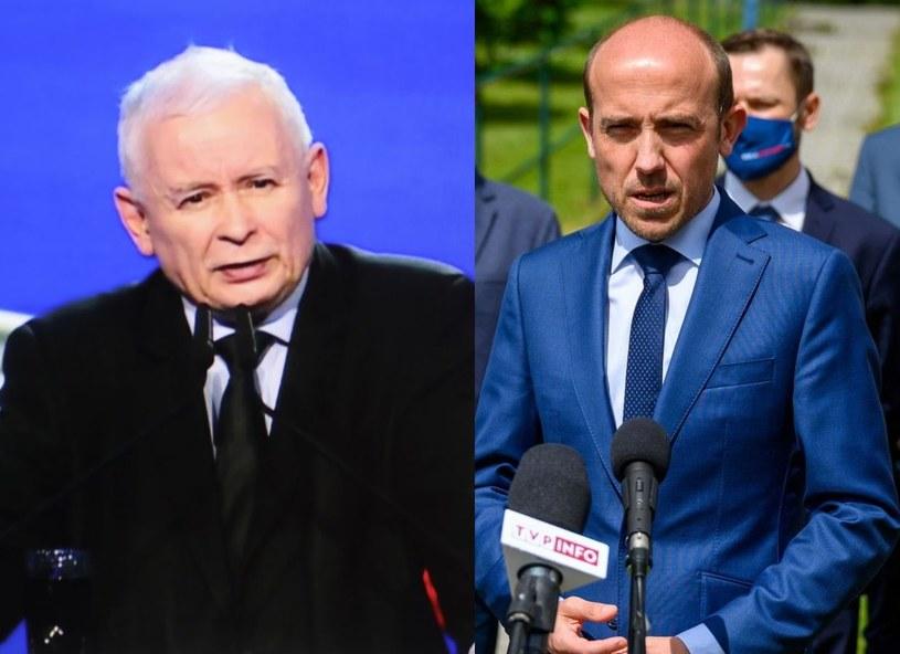 Jarosław Kaczyński i Borys Budka /Leszek Szymański/Paweł Topolski /PAP