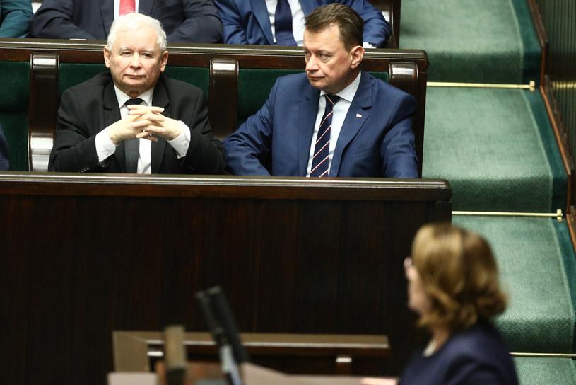 Jarosław Kaczyński i Małgorzata Kidawa-Błońska mają wspólnych przodków? /Fot Tomasz Jastrzebowski /Reporter