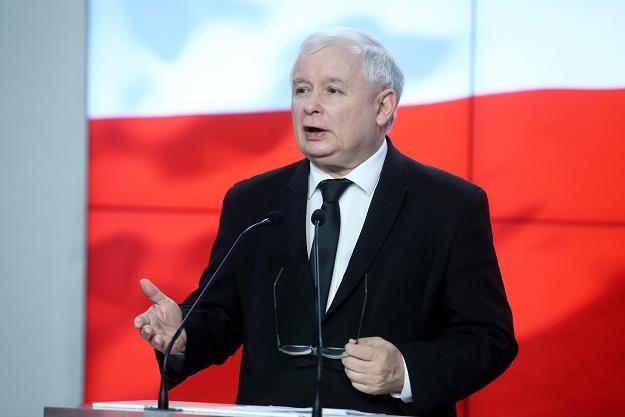 Jarosław Kaczyński, lider PiS /PAP