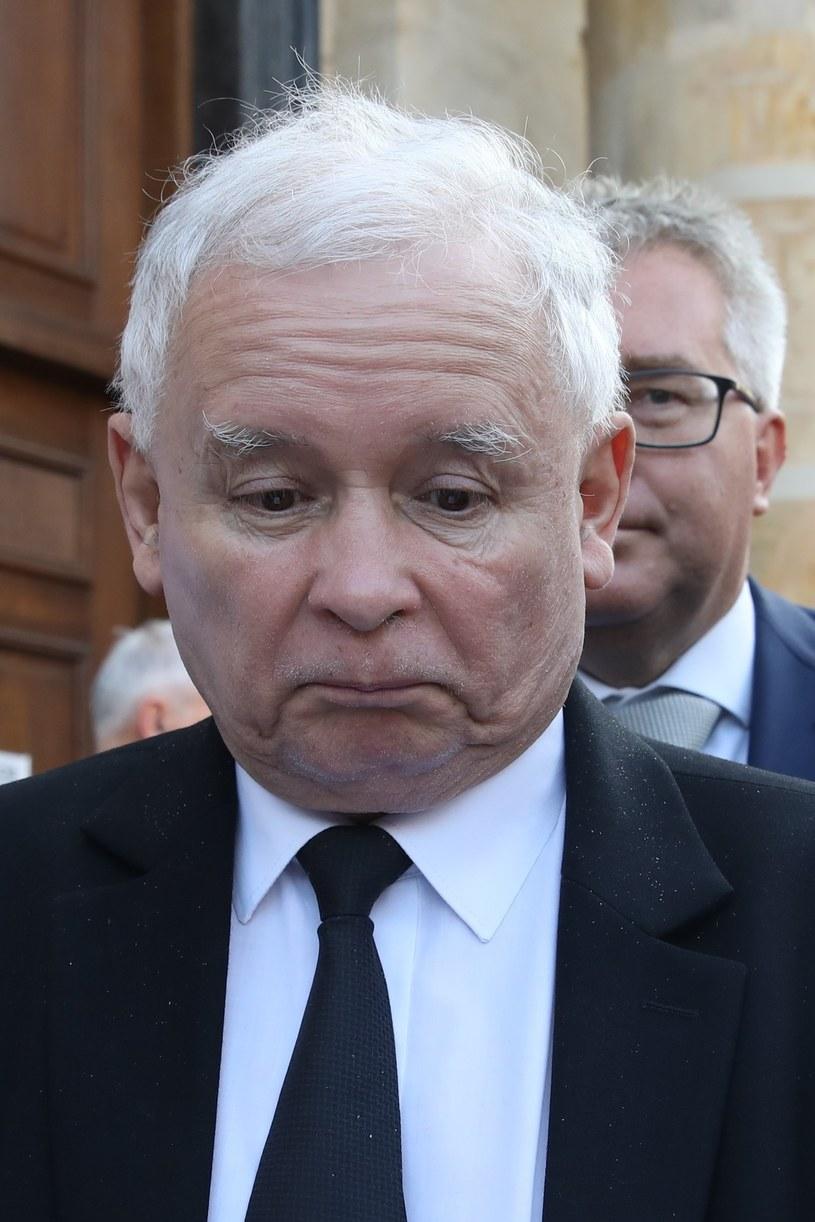Jarosław Kaczyński miał kreta! /fot. Andrzej Iwanczuk /Reporter