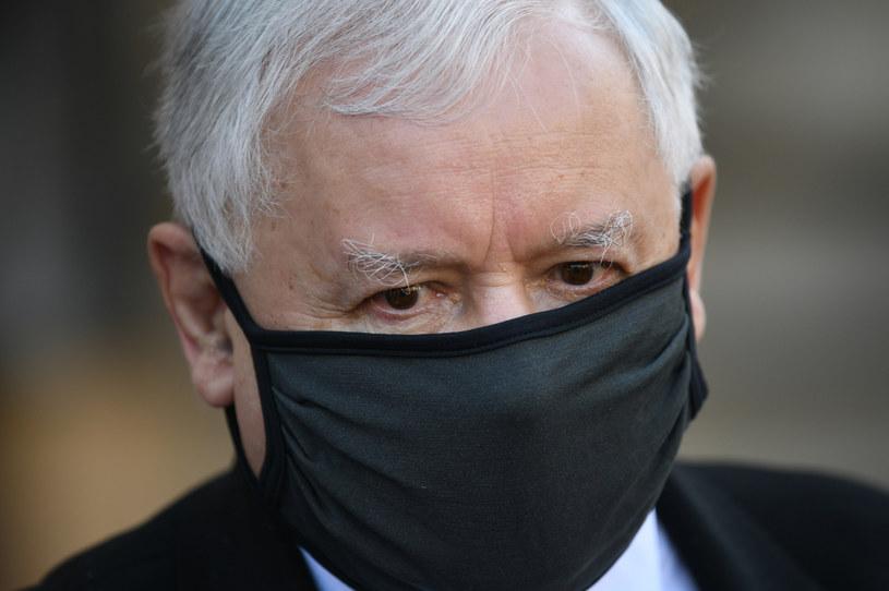 Jarosław Kaczyński: Mord na śp. Marku Rosiaku nie był czynem szaleńca, a efektem kampanii nienawiści /Adam Chełstowski /Agencja FORUM