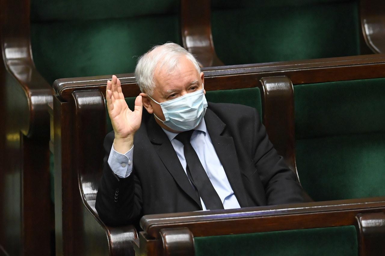 Jarosław Kaczyński: Nasza opozycja nie uznaje demokracji, nie cofnęła się przed zablokowaniem wyborów prezydenckich