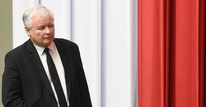 """Jarosław Kaczyński nazywany jest """"spiritus rector"""" rządu prawicy /Radek Pietruszka /PAP"""
