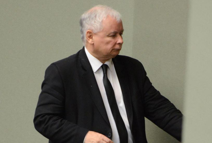 """Jarosław Kaczyński """"nie ma żadnej potrzeby, by spotykać się z Donaldem Trumpem"""" /Marcin Obara /PAP"""