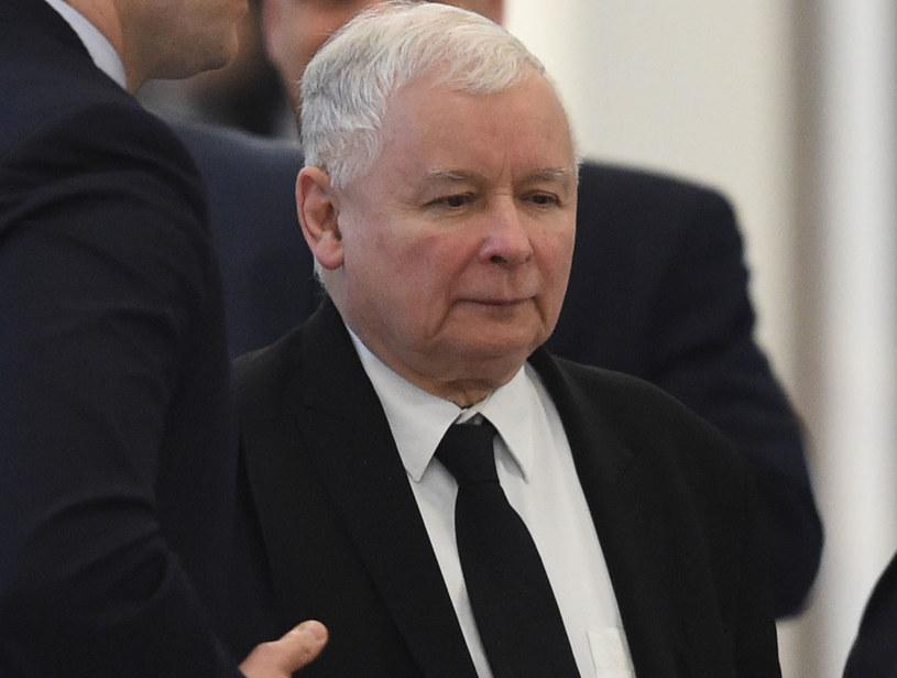 Jarosław Kaczyński: Niemcy muszą zdecydować się co do charakteru stosunków z Polską /Radek Pietruszka /PAP