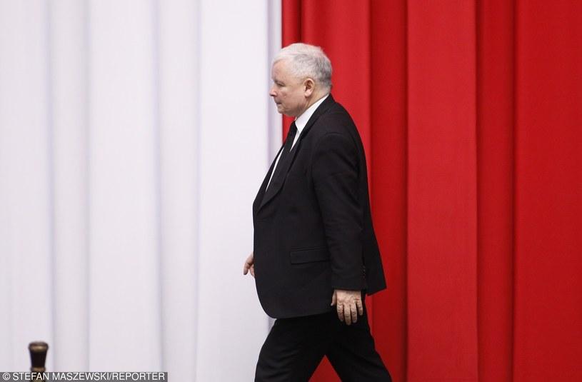 Jarosław Kaczyński ocenił, że dla realizacji swoich postulatów partia PiS będzie potrzebowała dwóch kadencji /STEFAN MASZEWSKI/REPORTER /East News