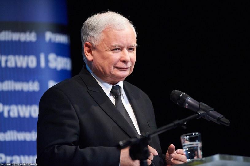 Jarosław Kaczyński pewnym krokiem zmierza po władzę /Łukasz Szeląg /Reporter