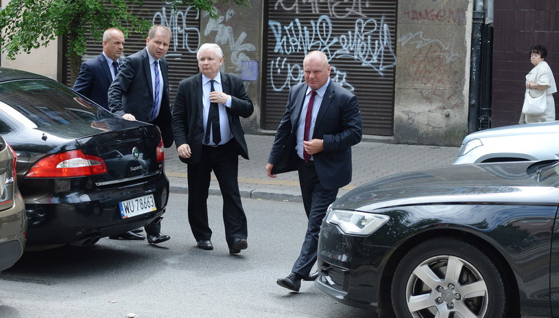 Jarosław Kaczyński: PO chce, by prezes PiS zapłacił za przelot /Jacek Turczyk /PAP