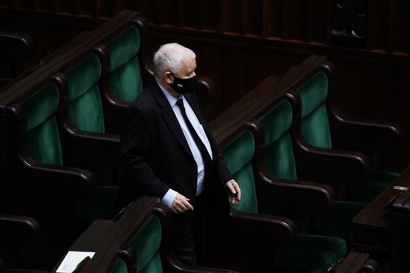 Jarosław Kaczyński postanowił zawiesić prawach członka PiS Jacka Baczyńskiego /Mateusz Wlodarczyk /Agencja FORUM
