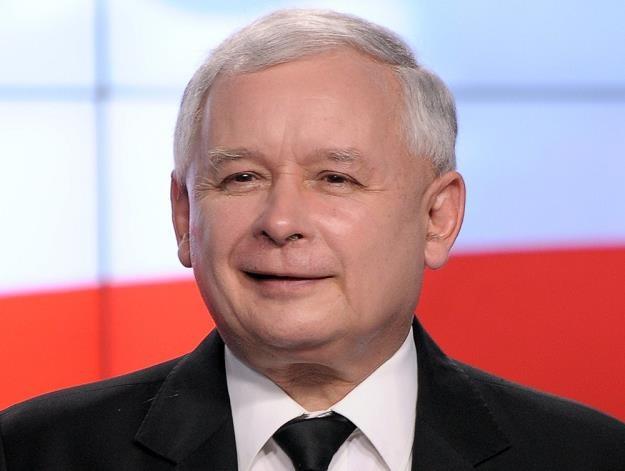 Jaroslaw Kaczynski, prezes PiS, fot.: Jan Bielecki /East News