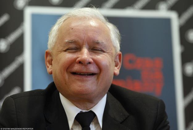 Jarosław Kaczyński, prezes PiS /fot. Stefan Maszewski /Reporter