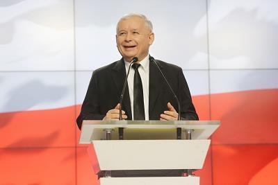 Jarosław Kaczyński, prezes PiS-u /PAP