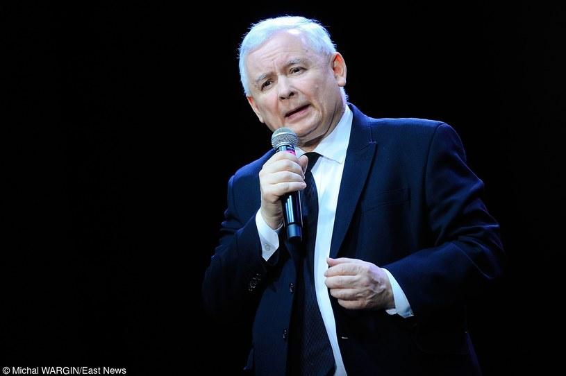 Jarosław Kaczyński, prezes PiS /Michał Wargin /East News