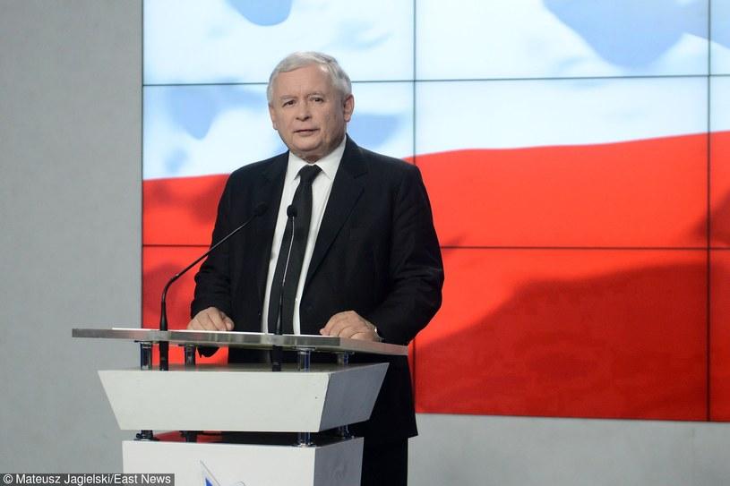 Jarosław Kaczyński , prezes PiS /Mateusz Jagielski /East News